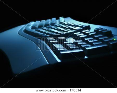 Tastatur-Nachtsicht