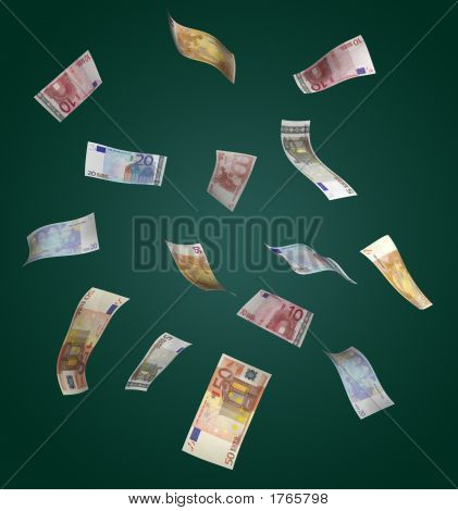 Euro Money Rain
