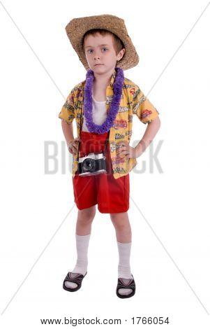 Boy Tourist