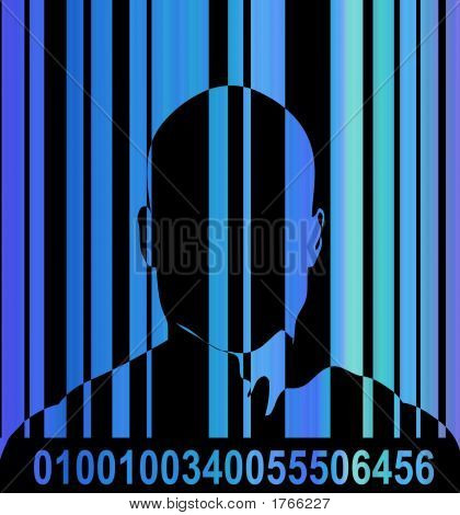Barcode And Man 8
