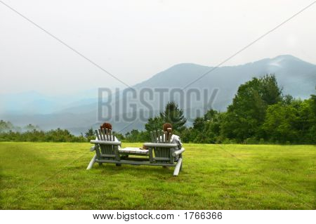 Peaceful Mountains