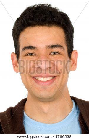 Retrato de homem casual