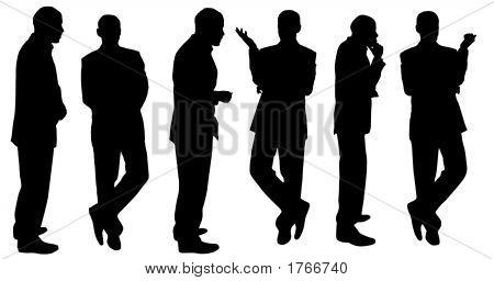 Hombres de negocios