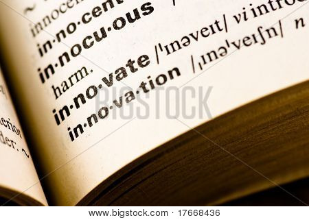 innovate dictionary word