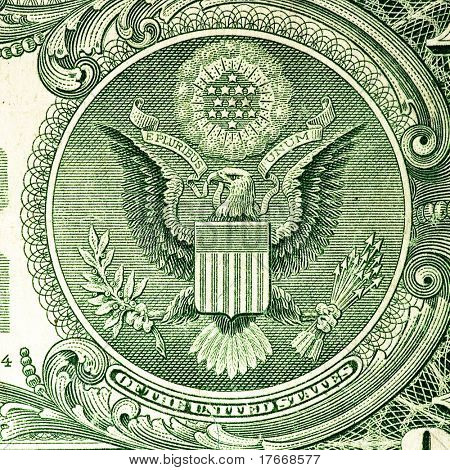 dollar banknote closeup