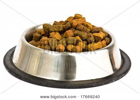 food of dog isolated