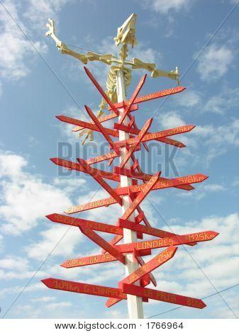 Skeleton Signpost