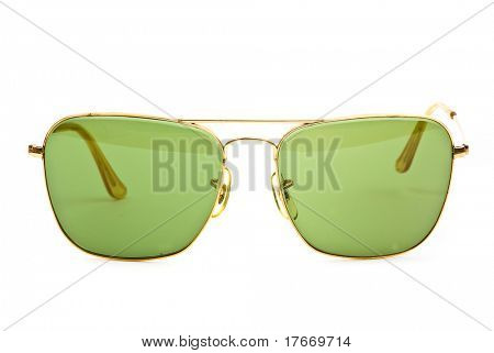 vintage sunglasses isolated