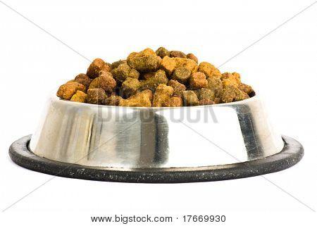dog food isolated