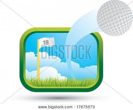 big shot golf ball