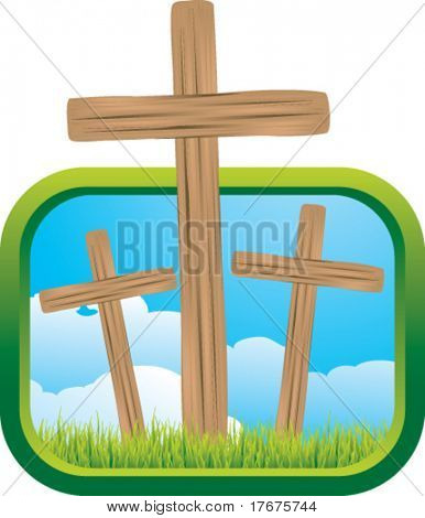 crosses and window