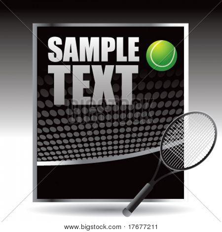 interesting tennis racket background