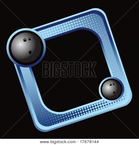 colored sports block featuring bowling balls