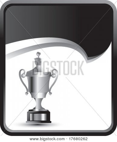 elaborate trophy on rip curl banner