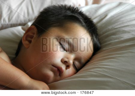 Adorable Baby Boy Sleeping