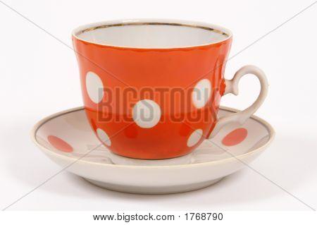 Taza de té de naranja