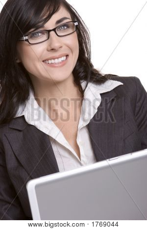 Laptop Businesswoman