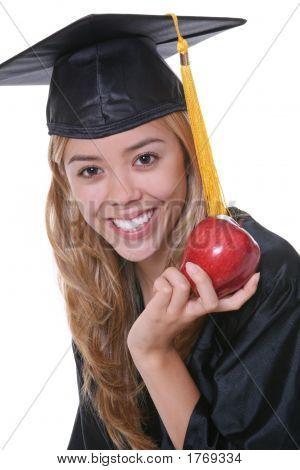 Frau graduate