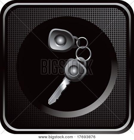set of keys on web icon