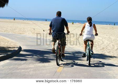 Pair Of Bikers