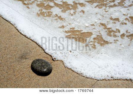 A pedra solitária