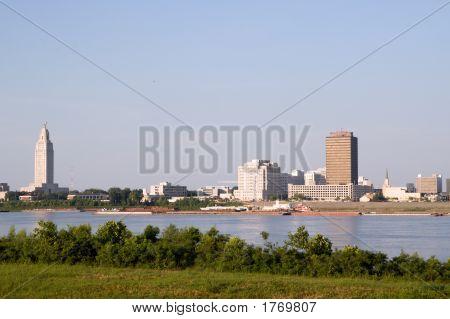 Baton Rouge Skyline