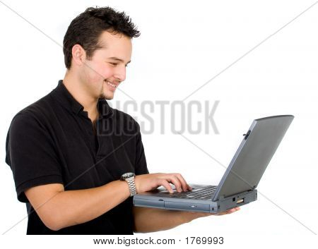 Man On A Laptop