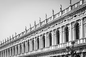 Venice, Italy - Columns Perspective poster