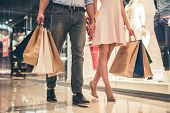 Couple Doing Shopping poster