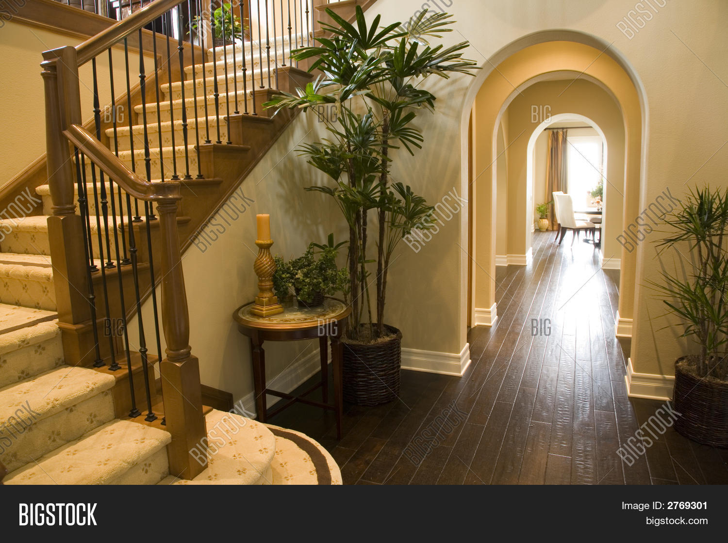Stupendous Luxury Home Hallway Stock Photo Stock Images Bigstock Largest Home Design Picture Inspirations Pitcheantrous