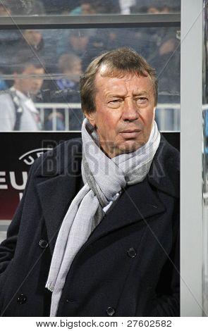 Fc Dynamo Kyiv's Manager Yuri Semin