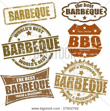 Barbeque Briefmarken