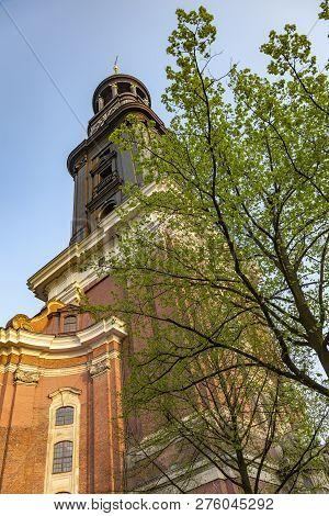 Top Of St Michaelis Hamburg