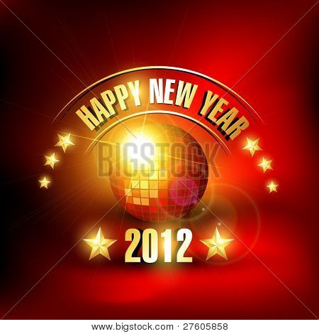 music style happy new year vector background