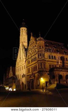 Townhall, Rothenburg, Germany
