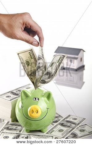 saving for purchasing house