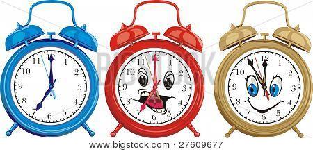 ringing alarm cloks