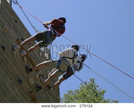 Three On Belay