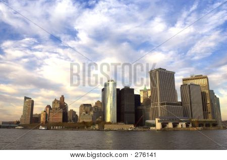 Vista del Downtown Manhattan