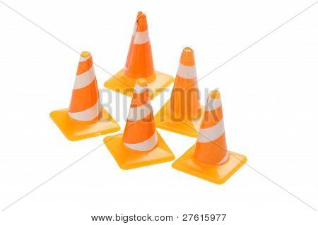 Toy Road Cones