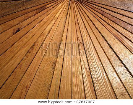 Wooden Slats.