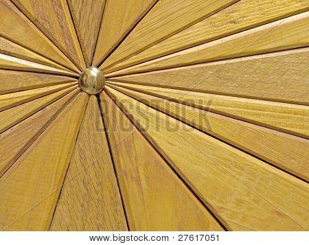 Wooden Segments Background.