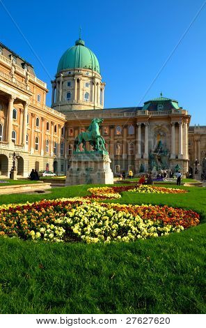 buda castle in budapest, hungary