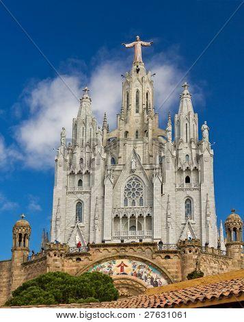 Spain Barcelona Temple De Sagrat Cor Tibidabo