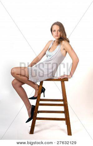 Sexy Brunette Model