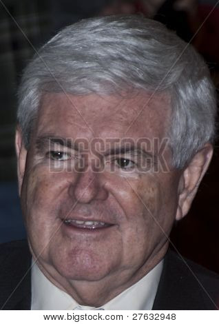 Newt Gingrich Close-up