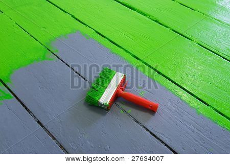 Painting The Floor