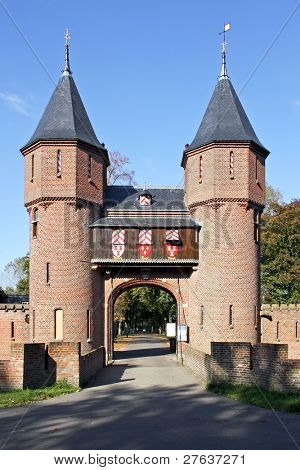 Castle 'De Haar' in the Netherlands