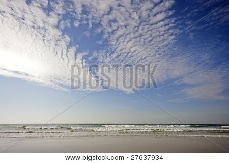 Cloudshape at the Atlantic Ocean in Portugal