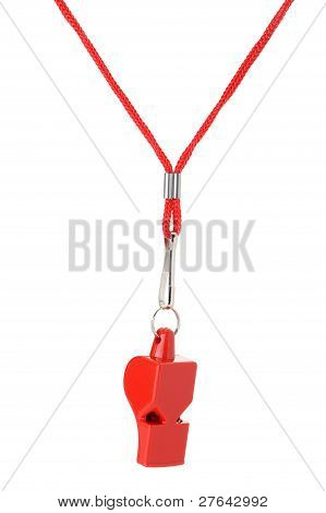 Sports Whistle With A Lace